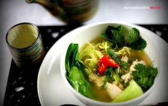 Vietnamese Style Chicken Noodle SoupEditWM