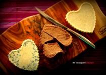 3 Chocolate Hearts – White Choc & Blueberry, Milk and Pure White