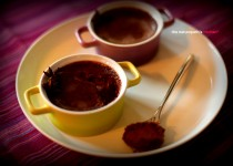Chocolate, Star Anise & Orange Crème Brûlée