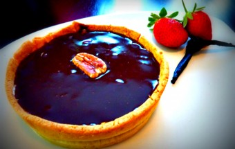 Salted-Caramel Tart-with-Pecans-Recipe-The-Naturopaths-Kitchen