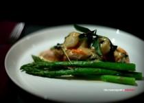 Thai Basil & Coconut Salmon with Scallops