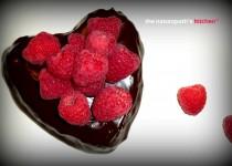 Raspberry Hazelnut Flourless Chocolate Cake with Ganache