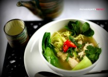 Vietnamese Style Chicken Noodle Soup (Pho)